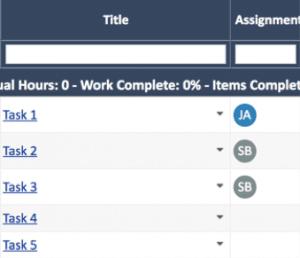 Jira Tasks in WorkOtter